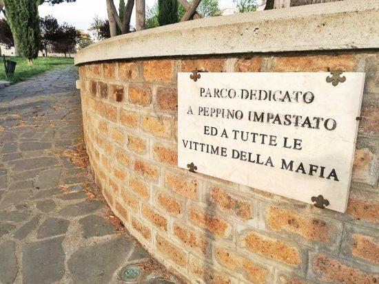 Viterbo - Il parco Peppino Impastato