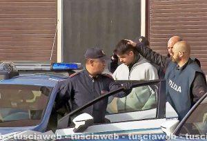 Viterbo - L'arresto di Riccardo Licci e Francesco Chiricozzi di CasaPound