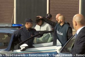 Viterbo - L'arresto di Riccardo Licci e Francesco Chiricozzi