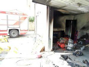 Vetralla - A fuoco garage