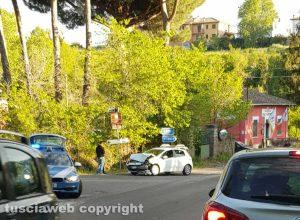 Vetralla - L'incidente sulla Cassia