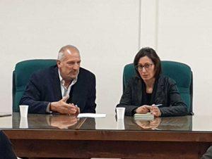Silvia Blasi all'incontro con Confagricoltura