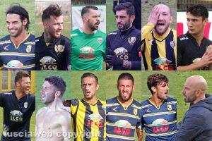 Sport - Calcio - Viterbese - L'undici probabile e Antonio Calabro