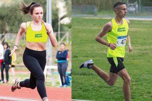 Sport - Atletica leggera - Elena Vergaro e Matteo Cianchelli