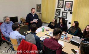 Viterbo - Enrico Panunzi alla Tusciaweb Academy
