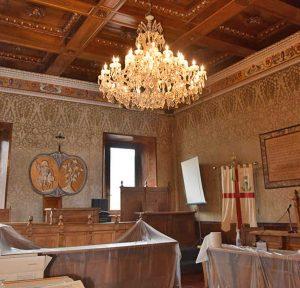 Il palazzo comunale di Vetralla
