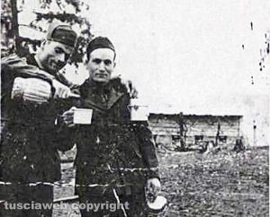 Viterbo - Luigi Camilli e Amelio Magalotti sul fronte russo