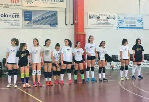 La Volleyball club Viterbo under 16