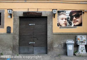 Viterbo - Old Manners - Nel riquadro Riccardo Licci e Francesco Chiricozzi