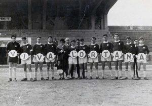 Sport - Calcio - L'Ortana alla coppa Curti del 1957 allo stadio Rocchi