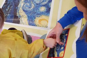 Ronciglione - I piccoli studenti del Virgili a scuola d'arte