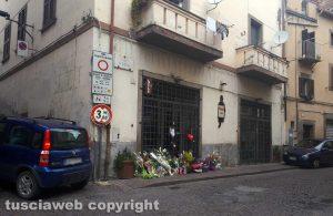 """Omicidio in via san Luca - Il negozio """"Fedeli"""" sotto sequestro"""