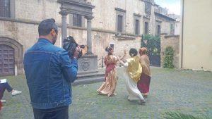 Tarquinia - Il flash mob etrusco