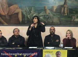 Tuscania - La presentazione della candidata sindaca Valentina Rinaldi La candidata sindaca Valentina Rinaldi