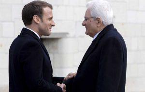 Amboise - Sergio Mattarella e Emmanuel Macron per i 500 anni dalla morte di Leonardo da Vinci