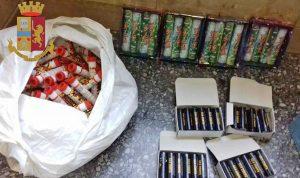 Roma - Sequestri di materiale pirotecnico in Lazio-Atalanta