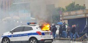 Roma - Scontri tra tifosi e polizia in Lazio-Atalanta