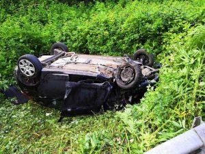 Frosinone - L'incidente tra Amaseno e Prossedi - Foto per gentile concessione di Ciociaria editoriale oggi