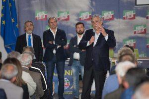 Montalto di Castro - L'incontro di Forza Italia con Antonio Tajani