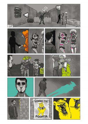 Vignanello - 21esimo degrado, il fumetto della terza A del liceo Midossi