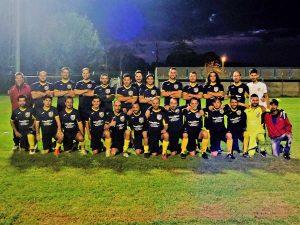 La squadra dell'Atletico Monterano