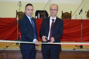 Viterbo - La nuova aula magna dell'Itt Leonardo da Vinci - Pietro Nocchi e Luca Damiani