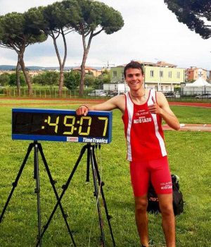 Leonardo Bargagli dell'Atletica Alto Lazio