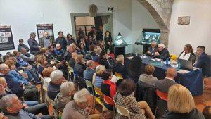 L'inaugurazione della mostra sulle maioliche medievali