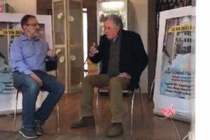 Alessio Paternesi all'incontro dell'associazione Via degli Artisti