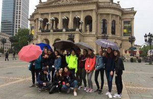 Francoforte - Liceo Buratti e il progetto Erasmus educate