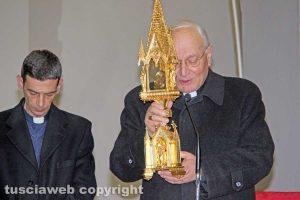 Viterbo - Il vescovo Lino Fumagalli