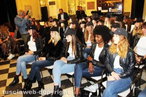 Viterbo - La presentazione del World Top Model
