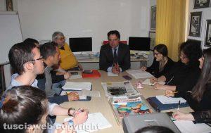 Viterbo - Riccardo Bartoli alla Tusciaweb Academy