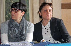 A sinistra Ombretta Bocci