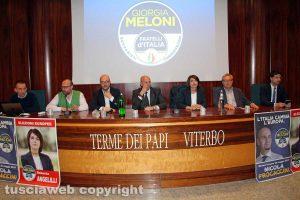 Europee 2019 - FdI - L'incontro con Nicola Procaccini e Roberta Angelilli