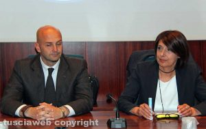 Nicola Procaccini e Roberta Angelilli