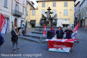 Viterbo - La Sinistra a piazza delle Erbe