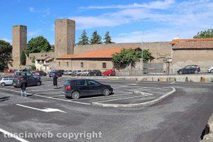 Viterbo - Il parcheggio alla Fortezze