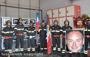 Civita Castellana -Intitolazione del distaccamento dei vigili del fuoco A giuliano Lipperi