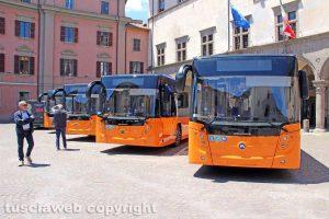 Viterbo - I nuovi autobus della Francigena