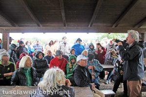Viterbo - L'incontro a difesa delle masse di San Sisto