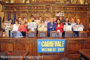 """Viterbo - La premiazione del concorso fotografico """"Carnevale viterbese 2019"""""""