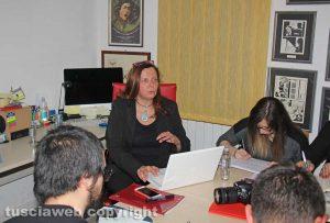 Lietta Granato alla Tusciaweb academy