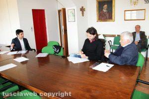 Oriolo Romano - La conferenza stampa del sindaco Emanuele Rallo