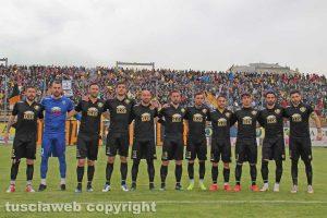 Sport - Calcio - Viterbese - La squadra che ha battuto il Monza in coppa Italia