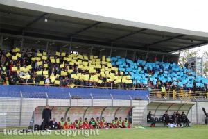 Sport - Calcio - Viterbese - La tribuna del Rocchi