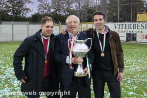 Sport - Calcio - Viterbese - Piero Camilli coi figli Vincenzo e Luciano