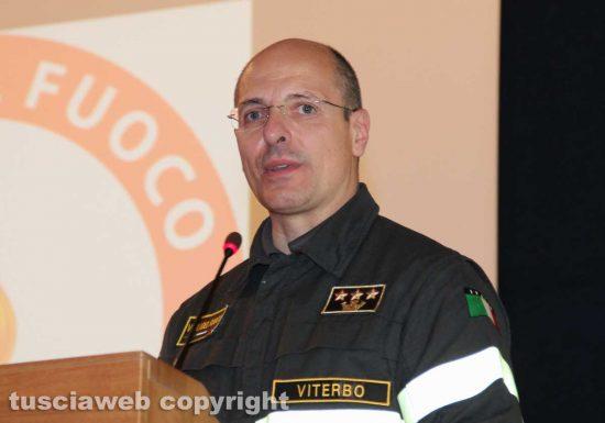 Vigili del fuoco - Il comandante Davide Pozzi