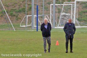 Sport - Calcio - Viterbese - Piero Camilli e Diego Foresti