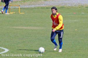 Sport - Calcio - Viterbese - L'allenamento di ieri - Simone Palermo